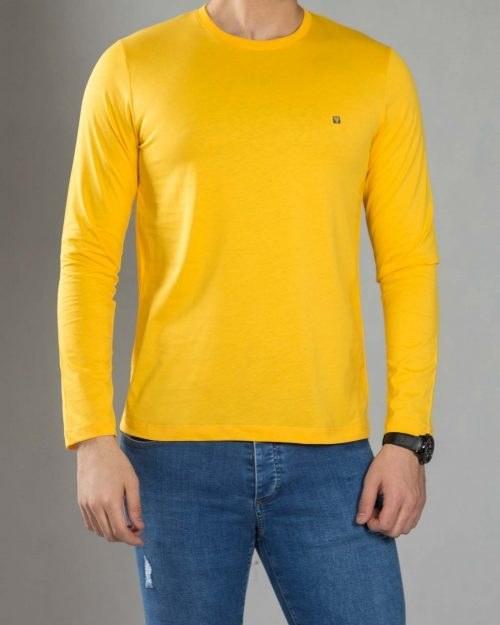 بلوز آستین بلند ساده مردانه