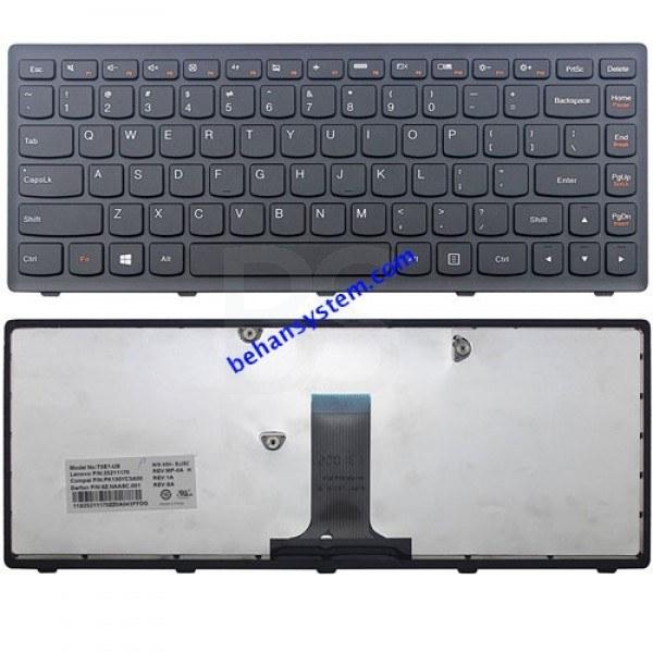 (به همراه لیبل کیبورد فارسی جدا گانه) | کیبورد لپ تاپ لنوو IdeaPad مدل G405