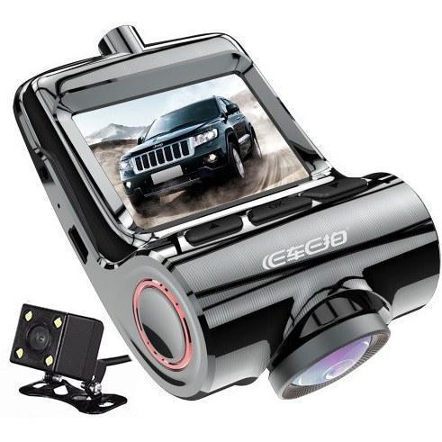 دوربین پشت آینه ای خودرو نامحسوس دو دوربین ۴k کد ۶۱۰ |