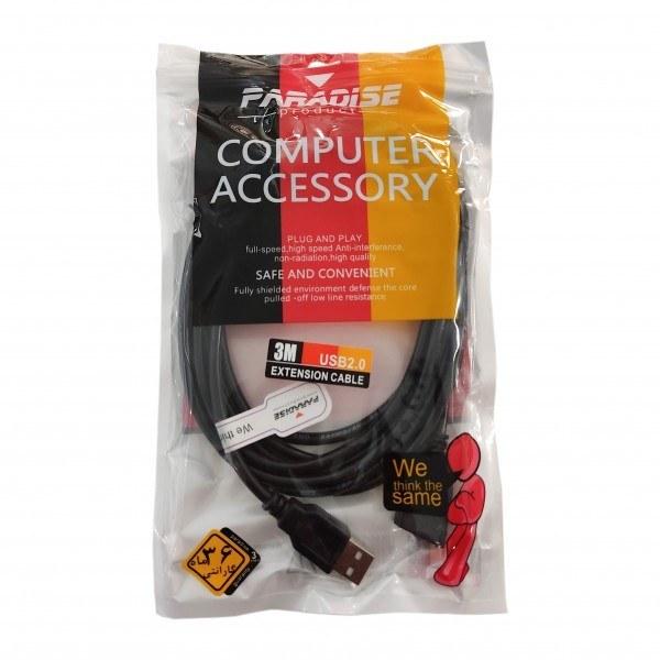 تصویر کابل افزایش طول USB