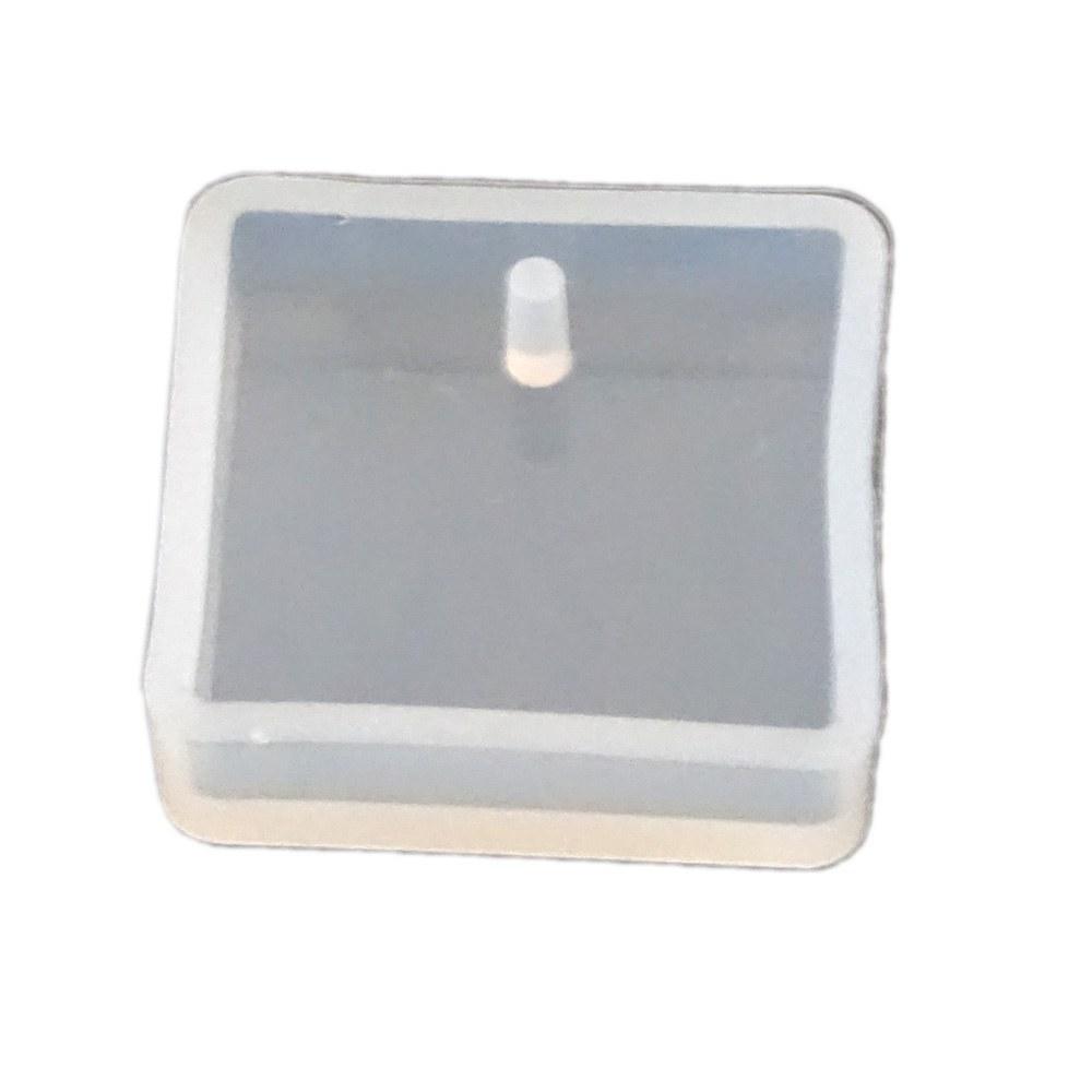 تصویر قالب سیلیکونی رزین مربع تکی silicon mold