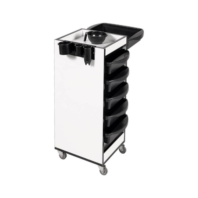 تصویر میز ترولی آرایشگاهی صنعت نواز مدل SN-2014 Industrial hairdressing trolley table model SN-2014