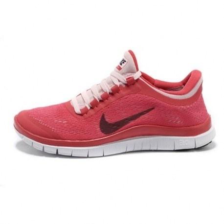 کتانی نایک فری زنانه Nike Free 3.0 V5 Women HotRed White