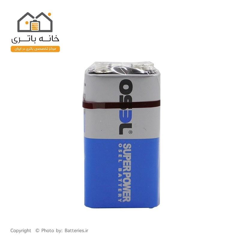 تصویر باتری کتابی اسل 9 ولت معمولی osel