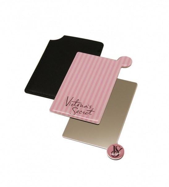 آینه نشکن لوکس به همراه کیف چرمی VICTORIA SECRET