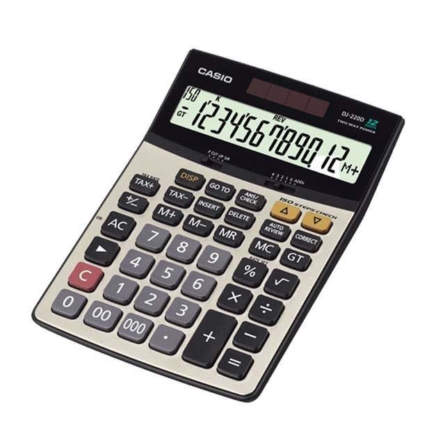 تصویر ماشین حساب DJ-240D  کاسیو Casio DJ-240D Calculator