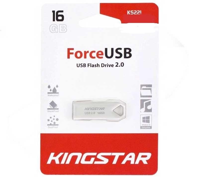 تصویر فلش مموری کینگ استار مدل KS221 ظرفیت 16 گیگابایت Kingstar KS221 Flash Memory 16GB