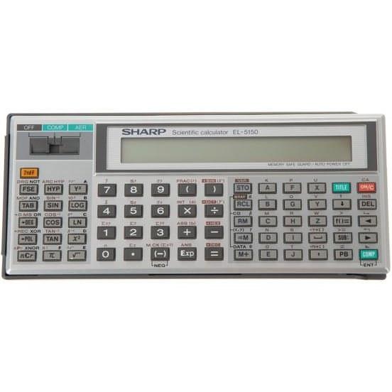 تصویر ماشین حساب شارپ مدل EL-5150