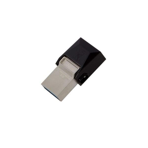تصویر فلش مموری کینگستون میکرو دو DTDUO USB 3.0 OTG ظرفیت 32 گیگابایت Flash Memory KingSton MicroDuo DTDUO USB3.0 OTG - 32GB