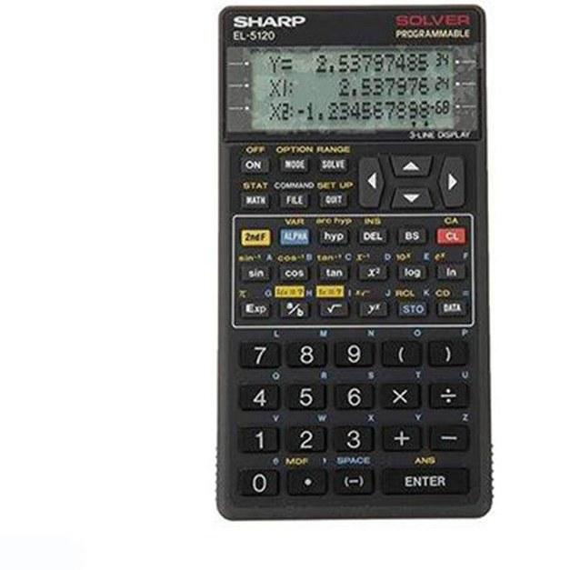 تصویر ماشین حساب مدل EL-5120 شارپ Sharp EL-5120 Calculator