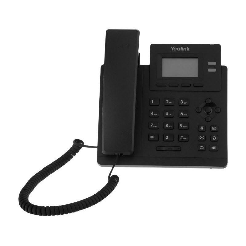 تصویر تلفن تحت شبکه یالینک مدل SIP-T30P Yealink SIP-T30P IP Phone