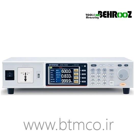 تصویر منبع تغذیه AC گودویل مدل APS-7050 APS-7050 AC Power Source AC POWER SOURCE