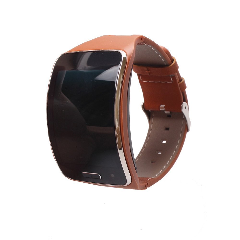 Alonea® Genuine leather Watch Wrist Strap Band For Samsung Gear S SM-R750 Smart | Alonea® Genuine leather Watch Wrist Strap Band For Samsung Gear S SM-R750 Smart