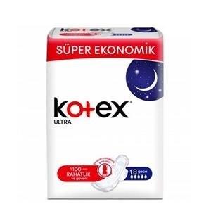 عکس نوار بهداشتی کوتکس ویژه شب مدل ULTRA تعداد ۱۸ عددی kotex  نوار-بهداشتی-کوتکس-ویژه-شب-مدل-ultra-تعداد-18-عددی-kotex