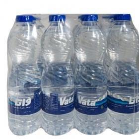 تصویر آب معدنی 0.5 لیتری باکس 12 عددی واتا