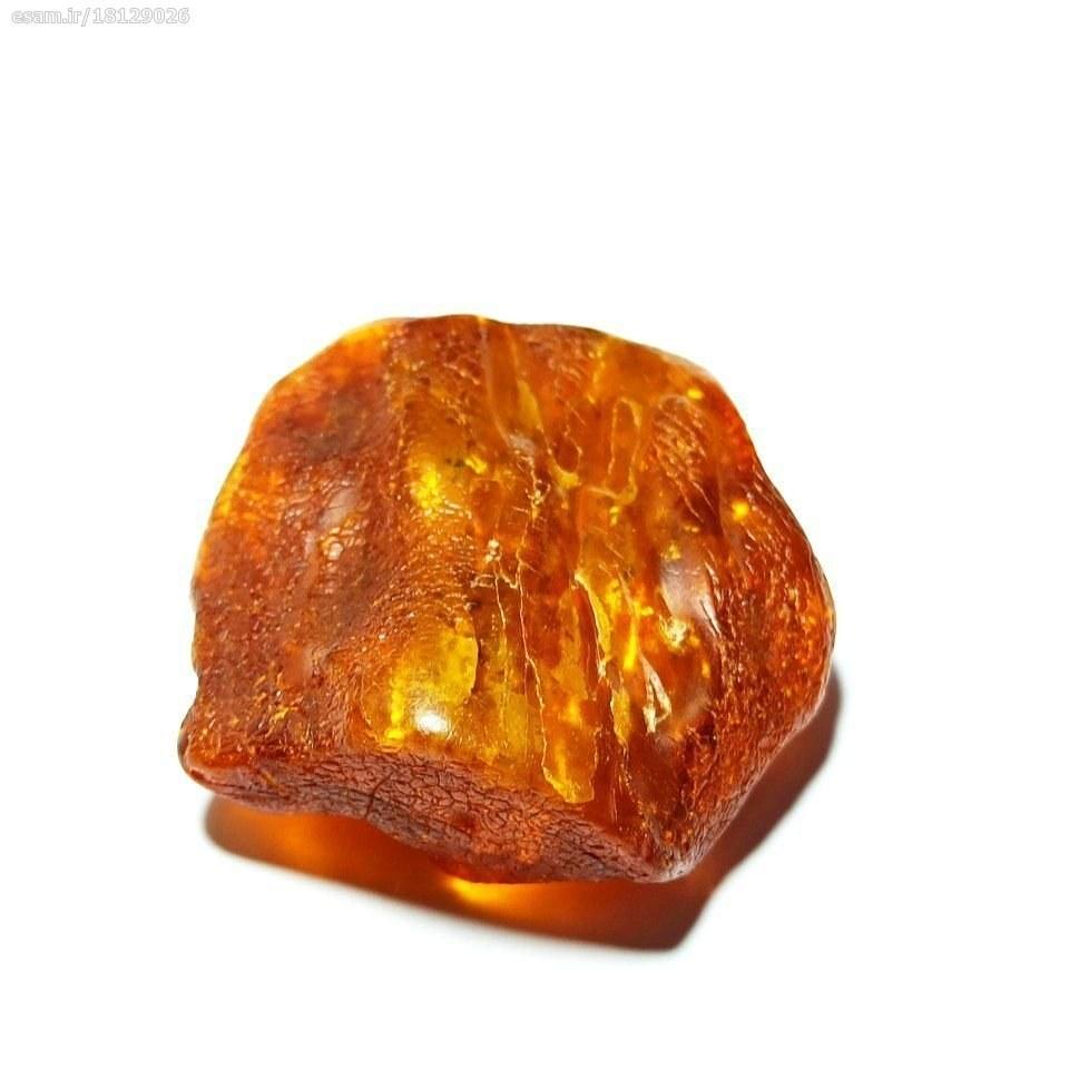 سنگ راف کهربا بالتیک کاملآ طبیعی و اصل