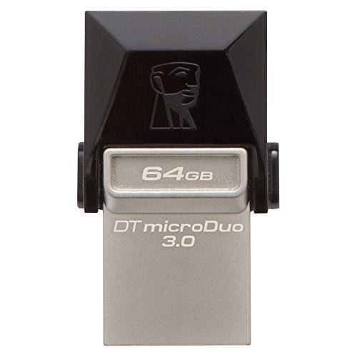 تصویر Kingston Digital 64 GB Data مسافر Micro Duo USB 3.0 Micro USB OTG (DTDUO3 / 64GB)