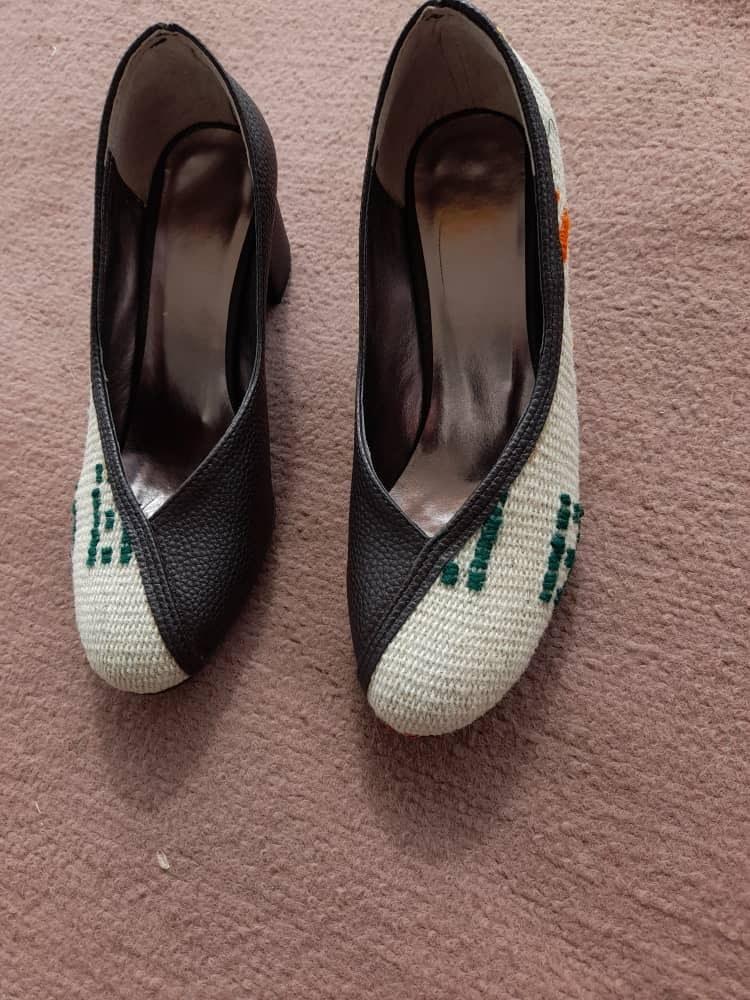 تصویر کفش زنانه پاشنه ۳ سانت