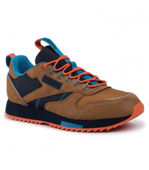 کتانی رانینگ مردانه ریبوک Reebok Classic Leather Ripple Trail EG8707