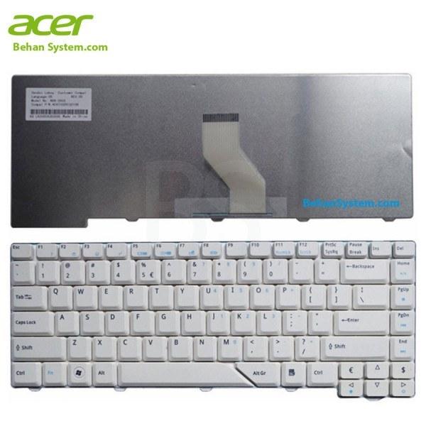 تصویر کیبورد لپ تاپ Acer مدل Aspire 5520 به همراه لیبل کیبورد فارسی جدا گانه