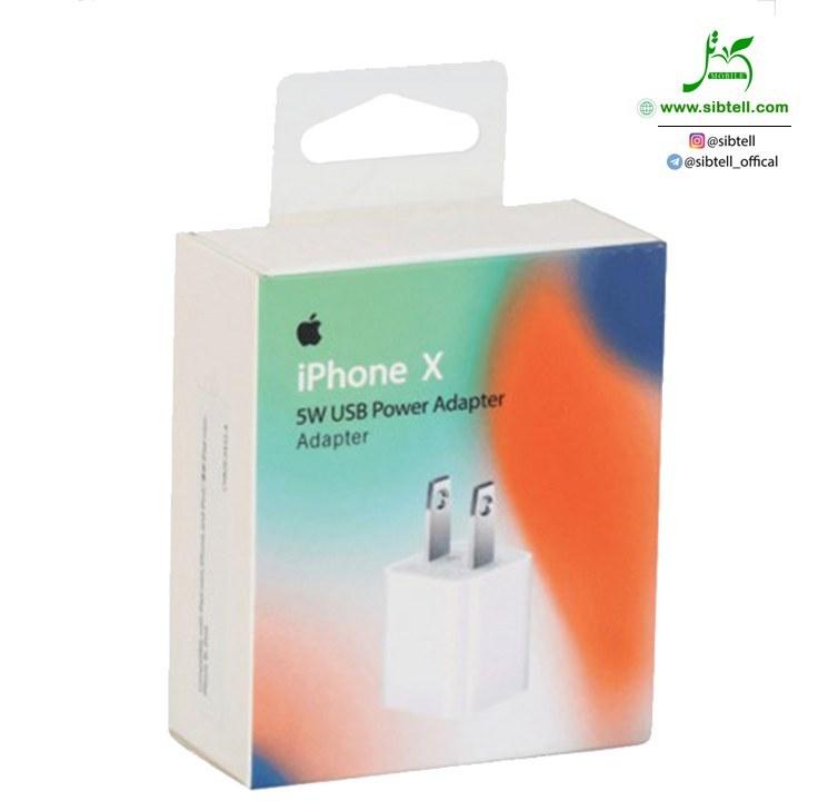 آداپتور اورجینال آیفون Apple iphone X