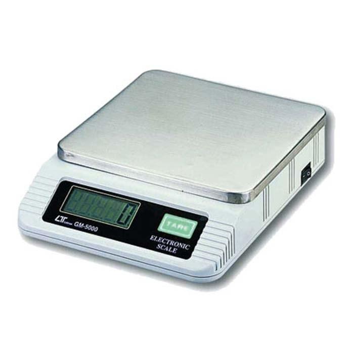 تصویر ترازوی دیجیتال 5 کیلوگرم لوترون مدل LUTRON GM-5000 DIGITAL SCALE, 5000 g x 1 g, RS-232  GM-5000
