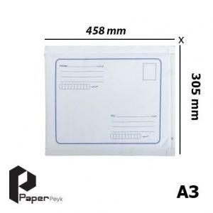 تصویر پاکت پستی حبابدار سایز A3 (بسته 100 عددی)