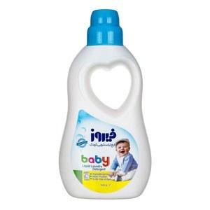 تصویر مایع لباسشویی کودک فیروز مدل Baby مقدار ۱۰۰۰ گرم ۶۲۶۰۲۱۲۷۷۵۷۷۴