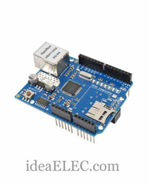 تصویر شیلد آردوینو Ethernet W5100