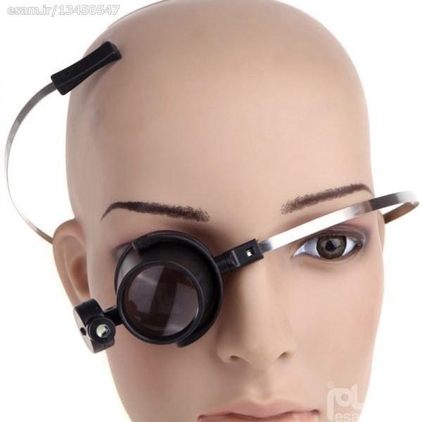ذره بین (لوپ) چشمی ساعتسازی تسمه ای 15X مدل MG13B