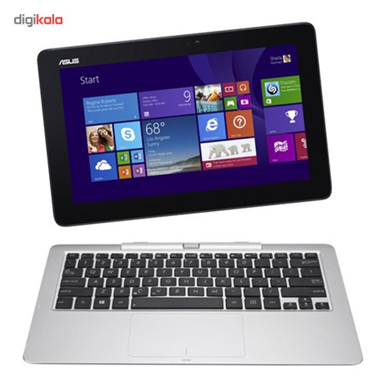 عکس تبلت ايسوس ترنسفورمر بوک T200TA ASUS Transformer Book T200TA with Keyboard Tablet - A تبلت-ایسوس-ترنسفورمر-بوک-t200ta 5