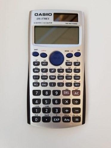 تصویر ماشین حساب مهندسی مدل OASIIO OS-570ES