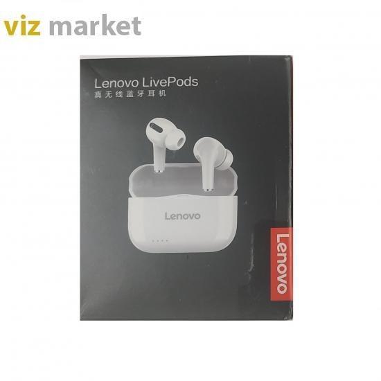تصویر هندزفری بلوتوث لنوو مدل   LivePods LP1s Lenovo LivePods LP1s handsfree blutooth