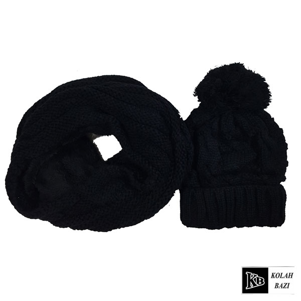main images شال و کلاه بافت مدل shk44 Textured scarf and hat shk44