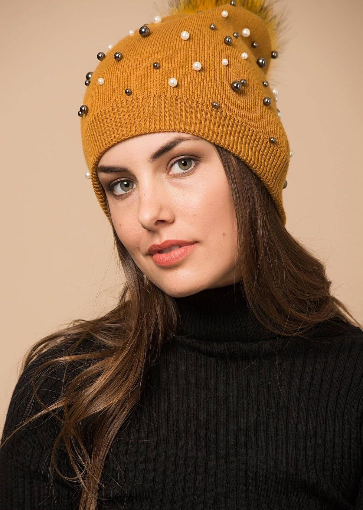 main images کلاه زنانه زعفرانی برند Miramar کد 1607856851