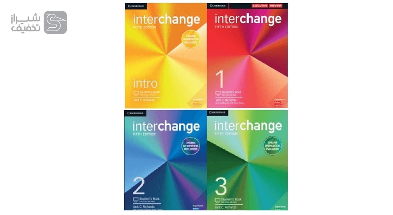 کتاب آموزش زبان انگلیسی Interchange 5th edition  