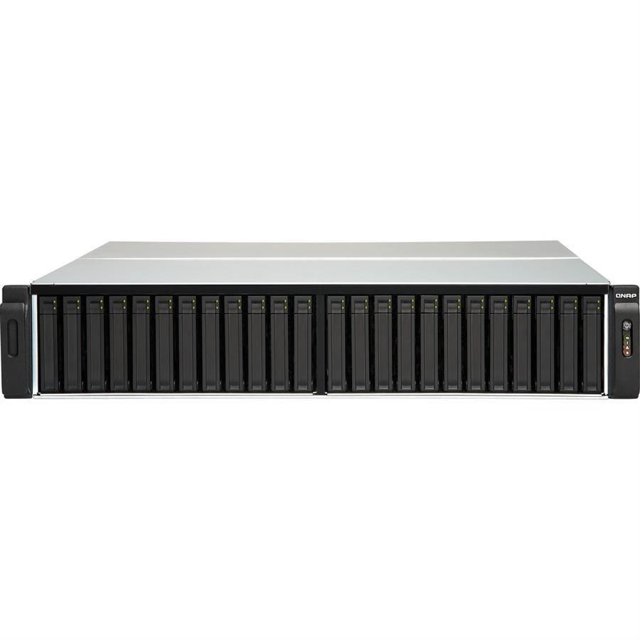 ذخیره ساز تحت شبکه کیونپ مدل TES-۳۰۸۵U-D۱۵۴۸-۱۶GR بدون هارد دیسک | QNAP TES-3085U-D1548-16GR 30-Bay Diskless NAS