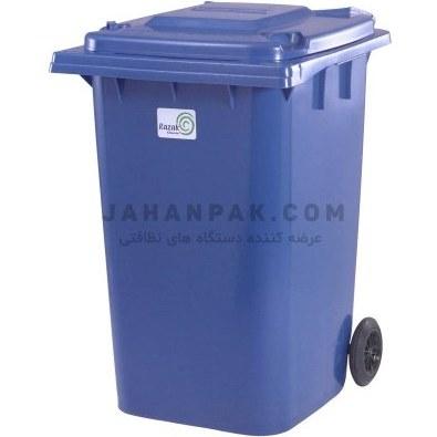 تصویر سطل زباله صنعتی چرخدار 360 لیتری