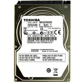 تصویر هارددیسک اینترنال توشیبا مدل MK3276GSX ظرفیت 320 گیگابایت TOSHIBA MK3276GSX Internal Hard Drive 320GB