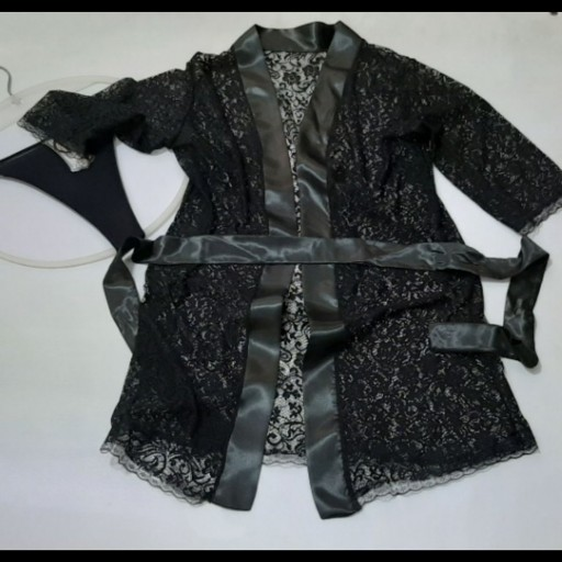 عکس لباس خواب روبدوشامی (تور )  لباس-خواب-روبدوشامی-تور