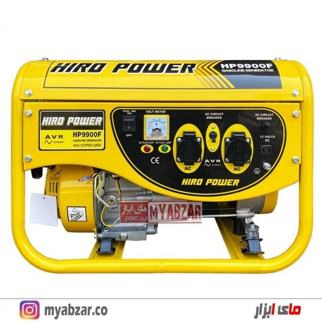 تصویر موتور برق 3500 وات هیرو پاور مدل HIRO POWER HP9900F