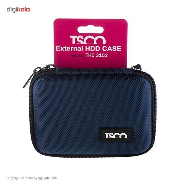 img کیف محافظ هارد تسکو مدل THC 3152 TSCO THC 3152 External HDD Cover