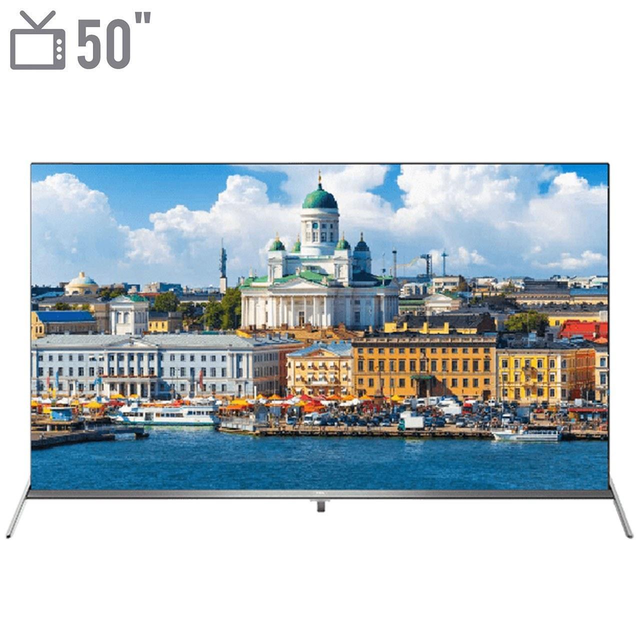 تصویر تلویزیون ال ای دی TCL مدل 50P8S 50P8S Ultra HD-4K
