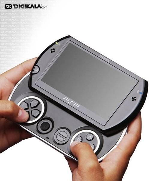 تصویر سونی پلی استیشن پورتابل (پی اس پی) - گو Sony PlayStation Portable (PSP) - Go