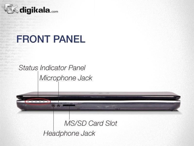 img لپ تاپ ۱۵ اینچ فوجیستو LifeBook AH531 Fujitsu LifeBook AH531 | 15 inch | Core i3 | 2GB | 500GB