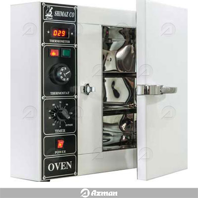 فور (آون) آزمایشگاهی دیجیتال محفظه استیل 55 لیتری برند شیماز