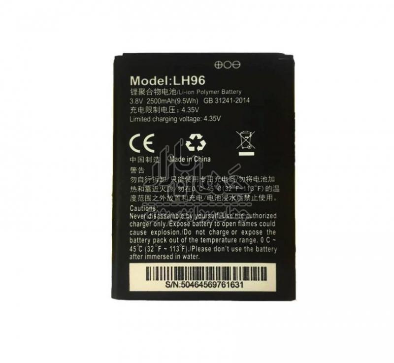 تصویر باتری مودم همراه ایرانسل مدل LH96 ظرفیت 2500 میلی آمپر ساعت (باتری مودم همراه ایرانسل مدل LH96 ظرفیت 2640 میلی آمپر ساعت)