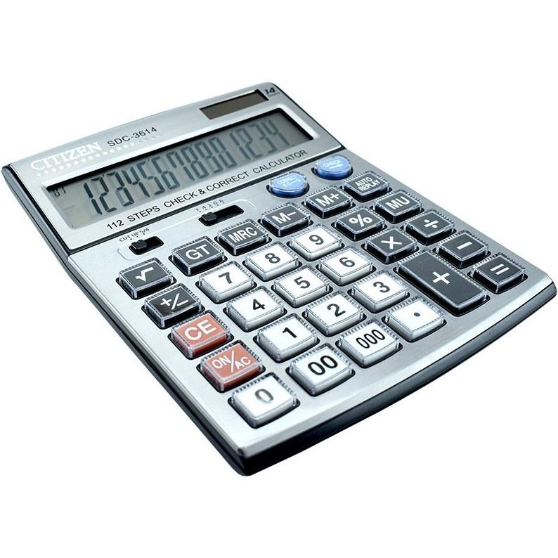تصویر ماشین حساب سیتیزن مدل SDC-3614