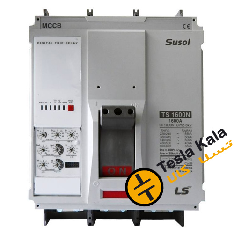 تصویر کلید اتوماتیک،کمپکت 1250 آمپر،قابل تنظیم الکترونیکی LS سری SUSOL