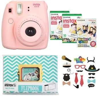 کیف دوربین فوجی فیلم مناسب برای دوربینهای Instax mini8 و Instax mini9 | Fujifilm Instax mini8 and mini9 Bag